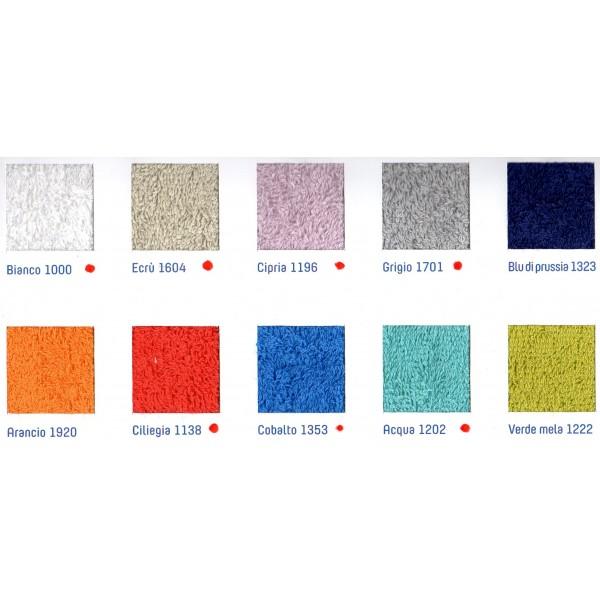 Tappeto bagno TIME BASSETTI in spugna di cotone rasato 100% 850 gr/mq ...