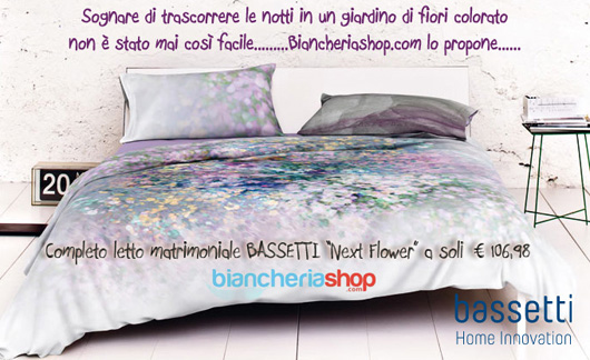 Completo letto Next Flower Bassetti Home Innovation